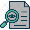 Document Audit Document Checking File Auditing Icon