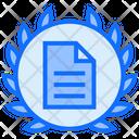 Document Badge Document Badge Icon
