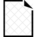Document Blank Icon