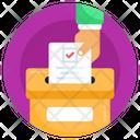 Document Storage File Box Record Storage Icon