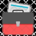 Document Case Briefcase Suitcase Icon
