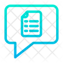 Document Chat Icon