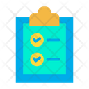 Document Clipboard Icon