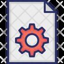 Document Cog Icon