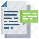 Document Comments Icon