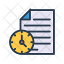 Document deadline Icon