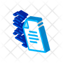 Document Delivery Speed Icon