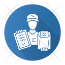 Package Document Delivery Icon