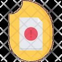 Document Destruction Icon