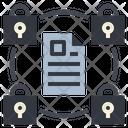 Document Encrypt Locked Icon