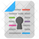 Document Encryption Icon