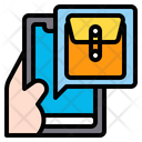 Document Envelope Icon