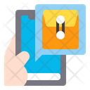 Document Envelope App Smartphone Icon