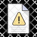 Caution File Alert Icon