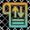 Document Exchange Document Transfer Report Icon