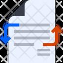 Document Exchange File Exchange Data Exchange Icon