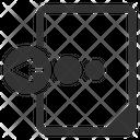 Document Export File Icon