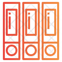 Files Binder Archives Icon
