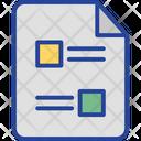 Document Files Icon