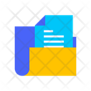 Document Folder Folder Data Storage Icon