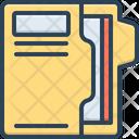 Documents Paper Folders Icon