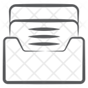 Document Folder File Archive Icon