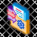 Document Adding Folder Icon