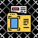 Document Folder Color Icon