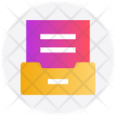 Document Folder Document Data Icon
