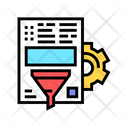 Document Filter Information Icon