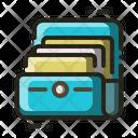 Document Holder Files Icon