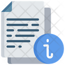 Document Info Information Note Icon