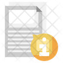 Document Info Icon