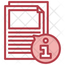 Document Info File Info File Details Icon