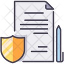 Document Insurance Icon