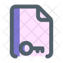 Document Protection Secure Icon