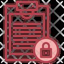 Document Lock Icon