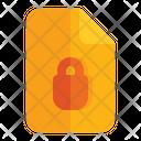 Document Locked Icon