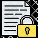 Document Locked Password Icon