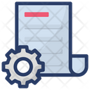 Document Management Document Setting File Setting Icon
