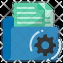Document Management Documentation Folder Icon