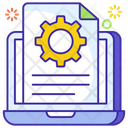 Document Management File Options Directory Icon