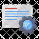 Document Setting Document Configuration Document Config Icon
