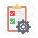 Document Management Construction Engineering Icon