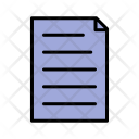 Document Memo Page Icon