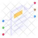 Paper Network Document Network Docs Network Icon