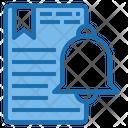 Alarm Document Email Icon