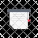 Document Printing Icon