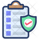 Approve Document Document Security Document Protection Icon