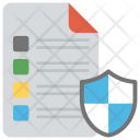 Document Protection File Icon